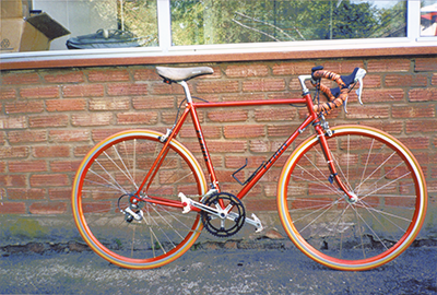 A Harry Perry Bike Of Harry Perry Cycles